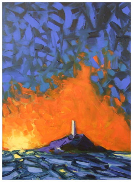 Lighthouse 61x46cm Sold