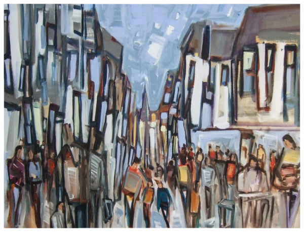 Buskers 76x102cm Sold