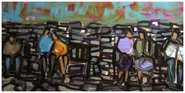 Benches 30x61cm Sold
