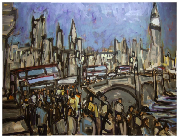 Westminster 76x102cm Sold