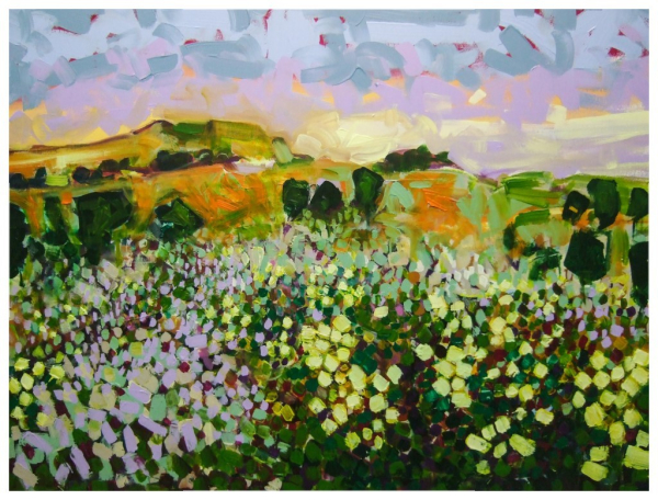 The Last Meadow 76x102cm Sold