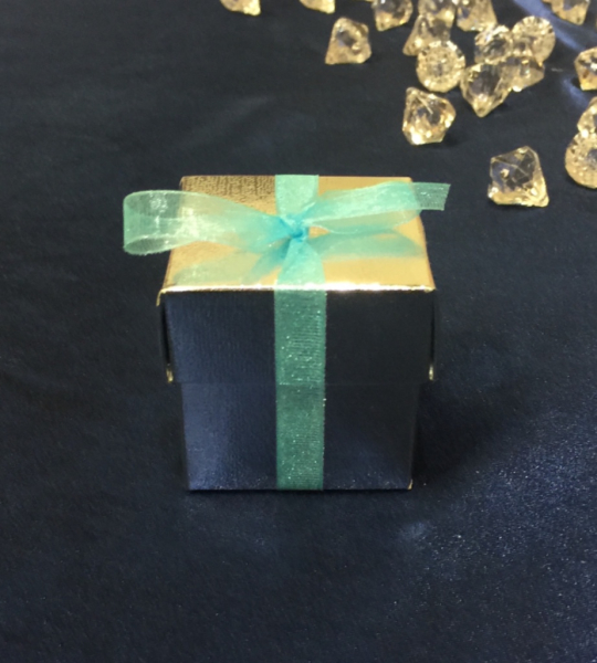 Silver box, we customize the accents to your colors