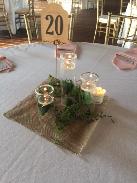 Floating Candlesticks cylinders set of 3, $25 for set of three sizes