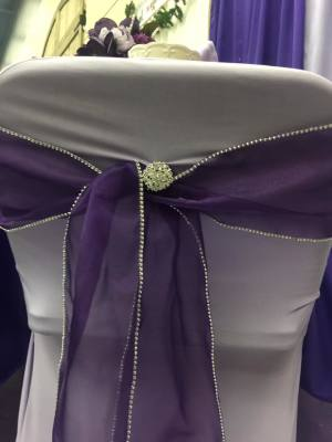 Chair Covers starting at $1.00 and Sashes starting at $0.85