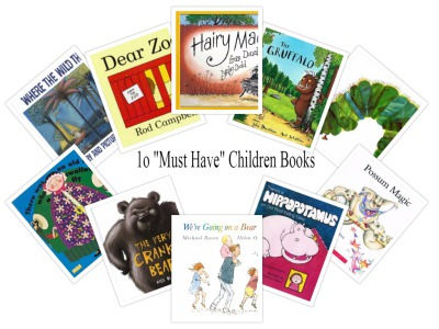"Top 10  ""Must Have"" Children's Story Books"