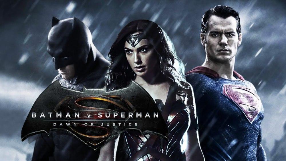 DC Superheroes Superman, Batman, Wonder Woman