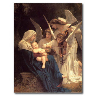 Angels with the Christ child.
