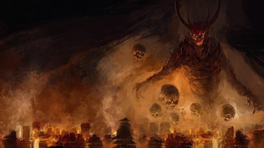 Demon poisoning the world