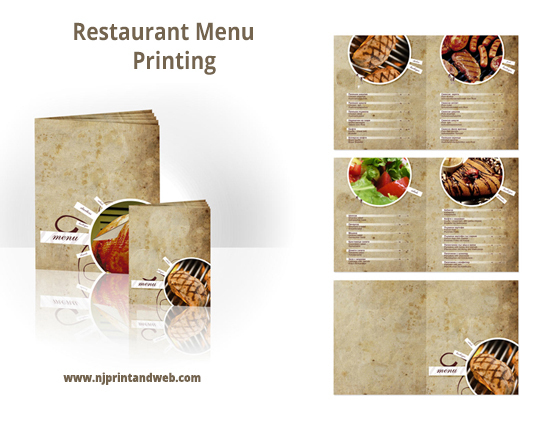 Restaurant, Menu, Printing, Print