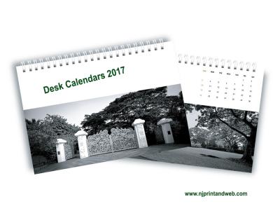 Printable Desk Calendars