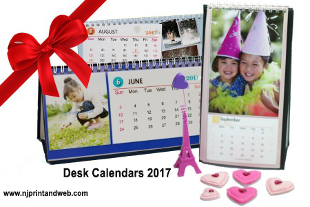 Holiday Desktop Calendars