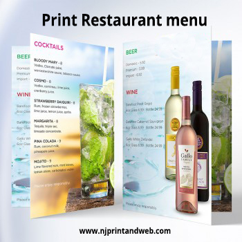 Design a Restaurant Menu