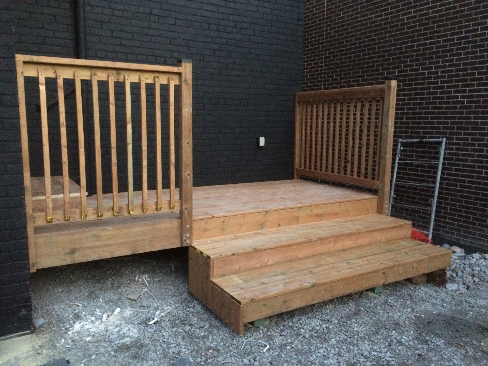 12x5 foot pressure treated
