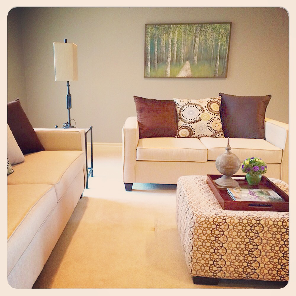 Light tone and texture Living room