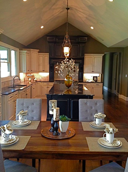 Stone and Timber Staging