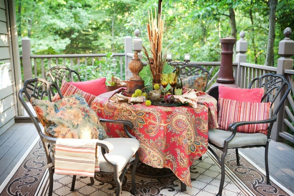 autumn table design