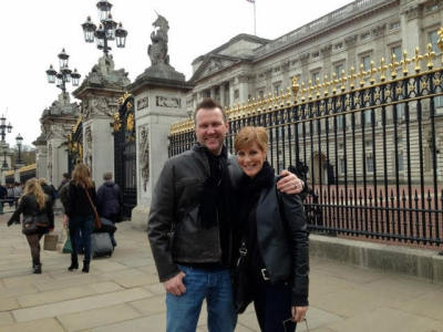 Anne and Paul in Europe