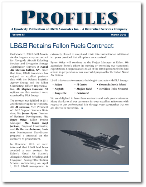LB&B's quarterly publication