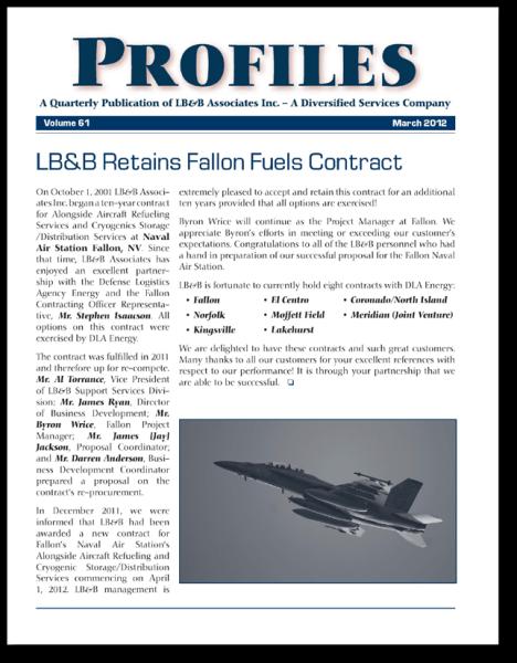 LB&B's quarterly publication