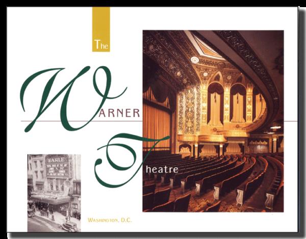 Warner Theatre brochure