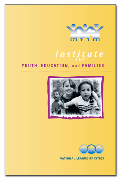 NLC's Youth, Education, and Families brochure