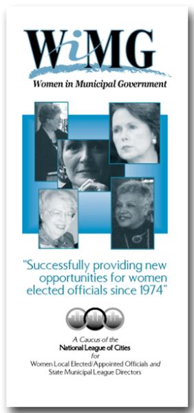 Women in Municipal Gov't brochure