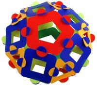 Pentagonal orthobicupola