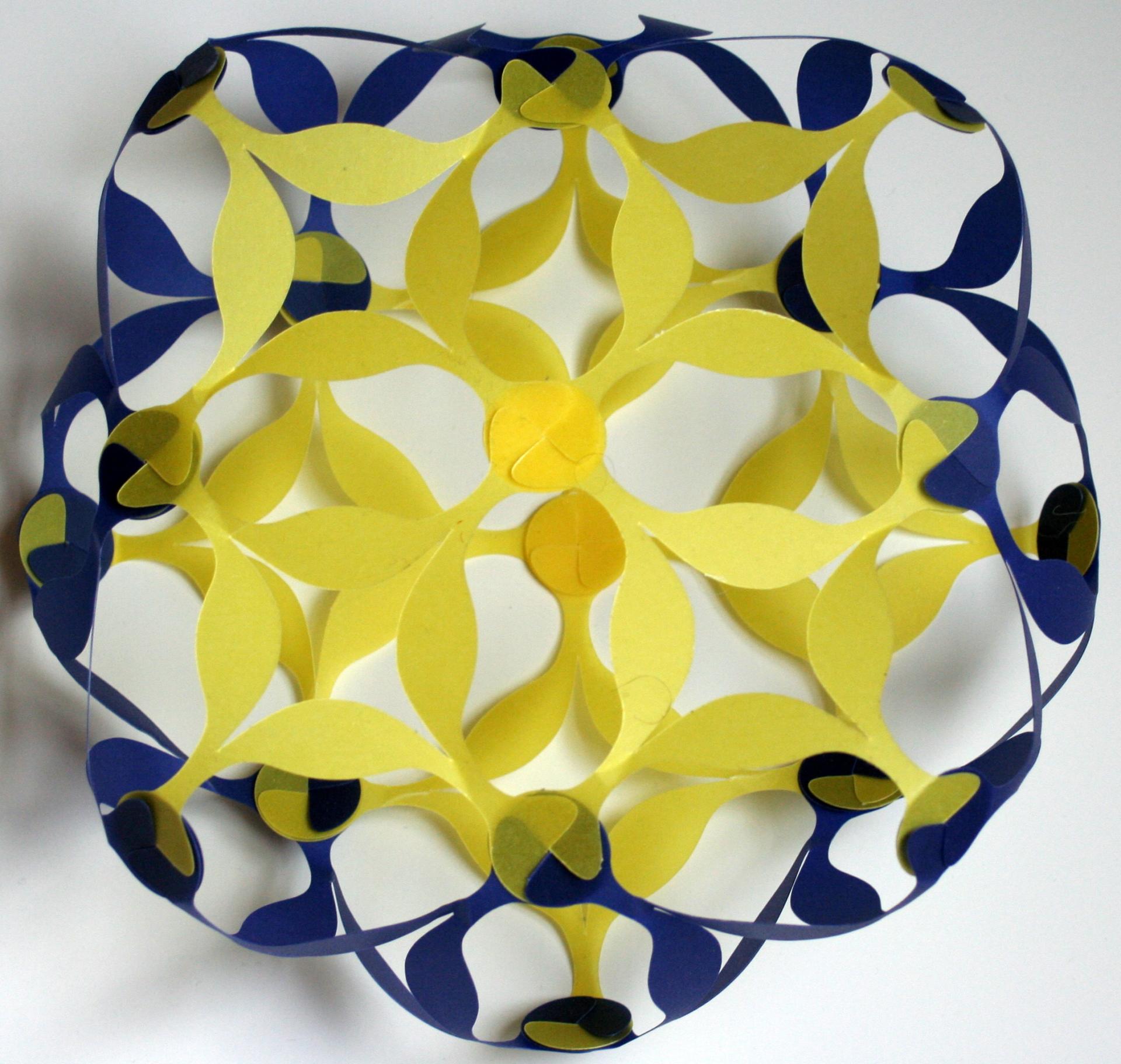 Square antiprism + tetragonal trapezohedron dual compound