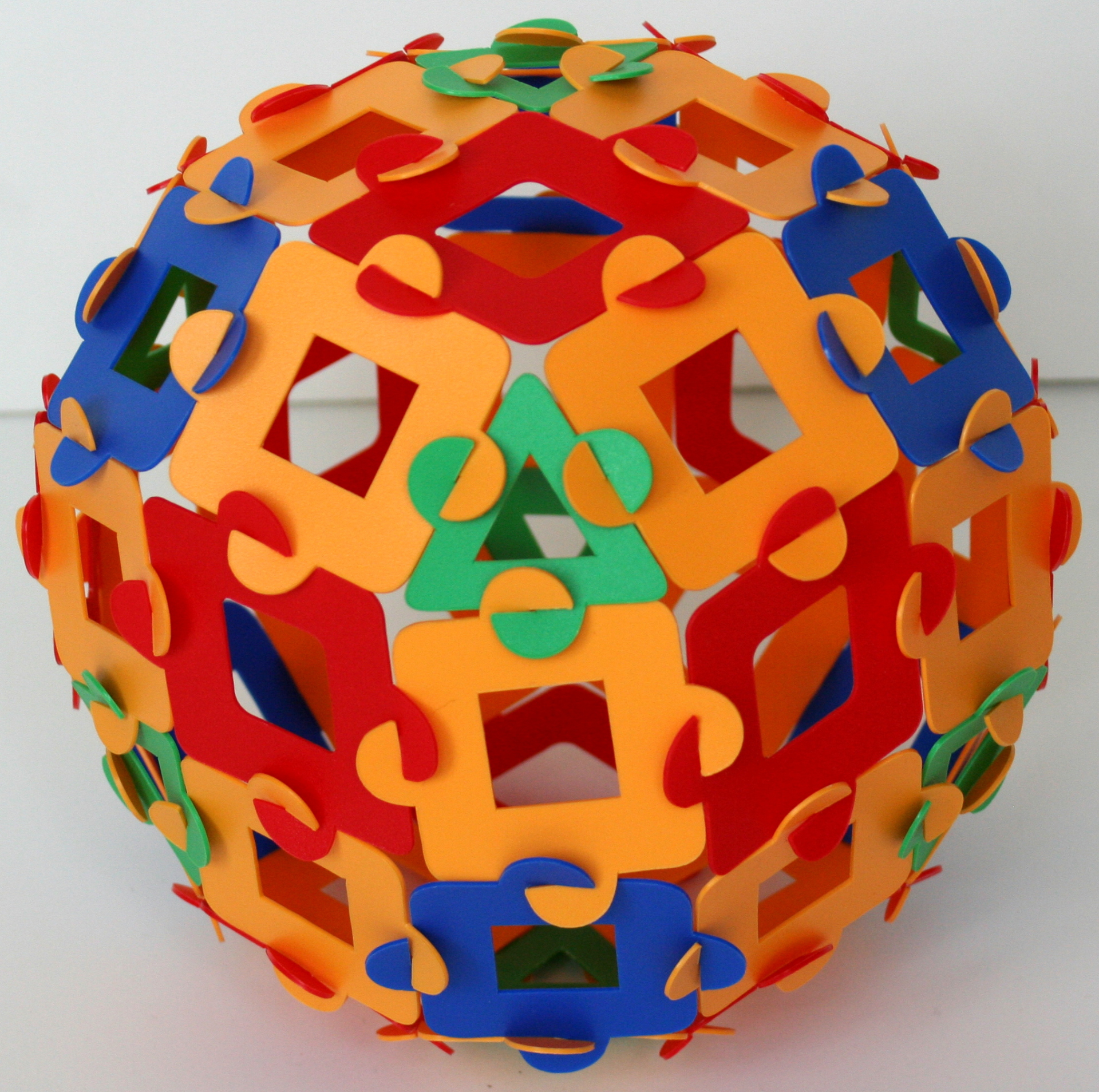 Expanded rhombic dodecahedron