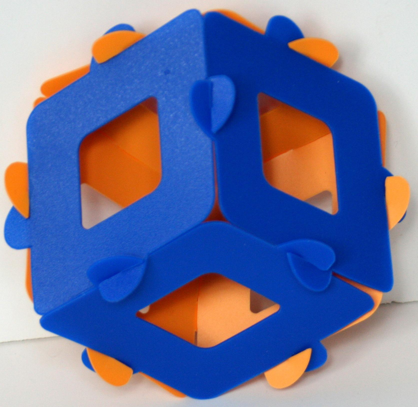 Obtuse trigonal trapezohedron