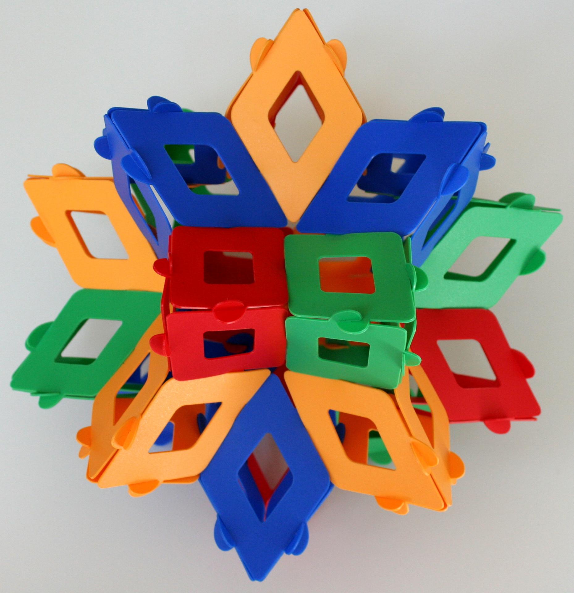 Rhombic hexecontahedron