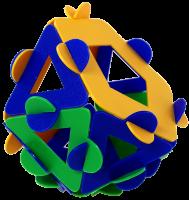 Metabidiminished icosahedron