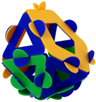 Metabidiminished icosahedron