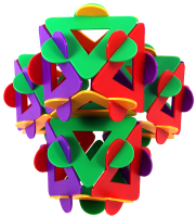 Connected octahedra