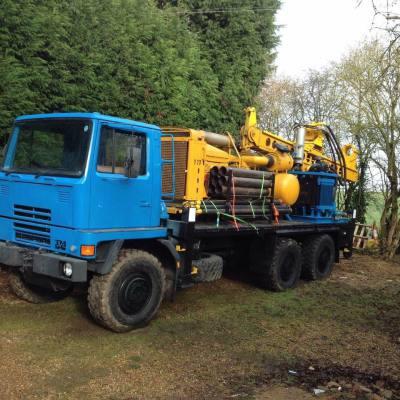 Nehemiah Construction UK drilling rig has finally arrived!