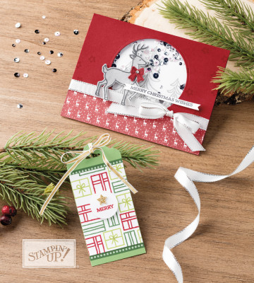 Santas Sleigh Stamp Set