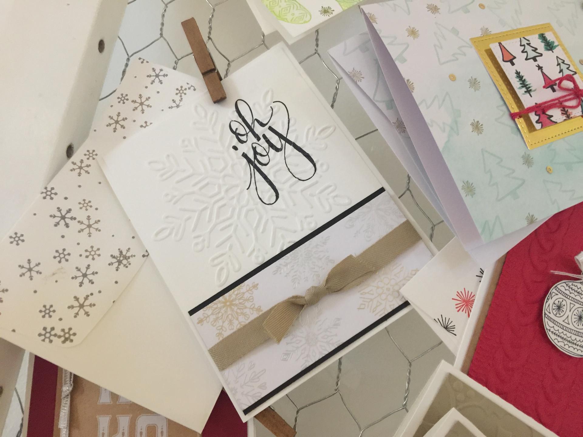christmas cards galore
