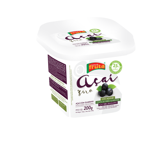 AÇAÍ SUGAR-FREE WITH GUARANA 200G