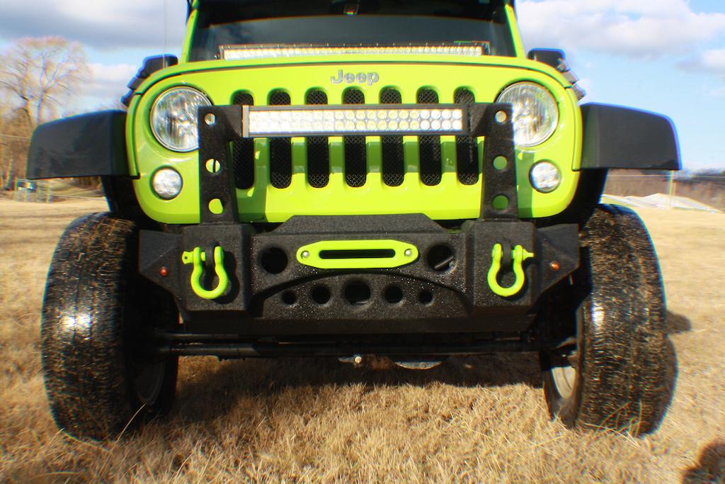 JK Gecko Front Bumper