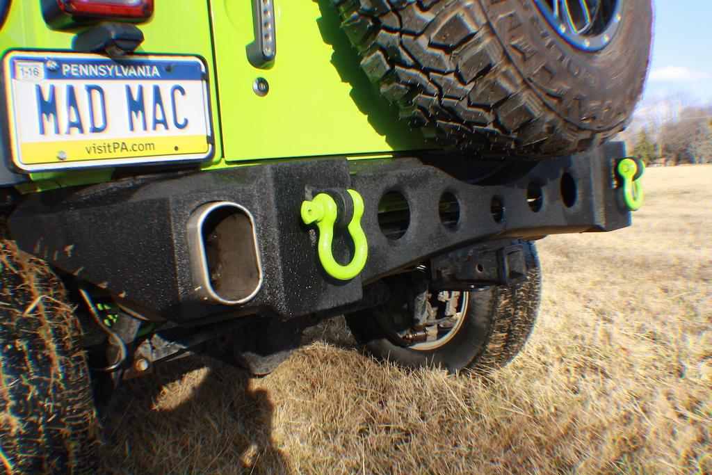 Gecko Unlimited rear Bumper