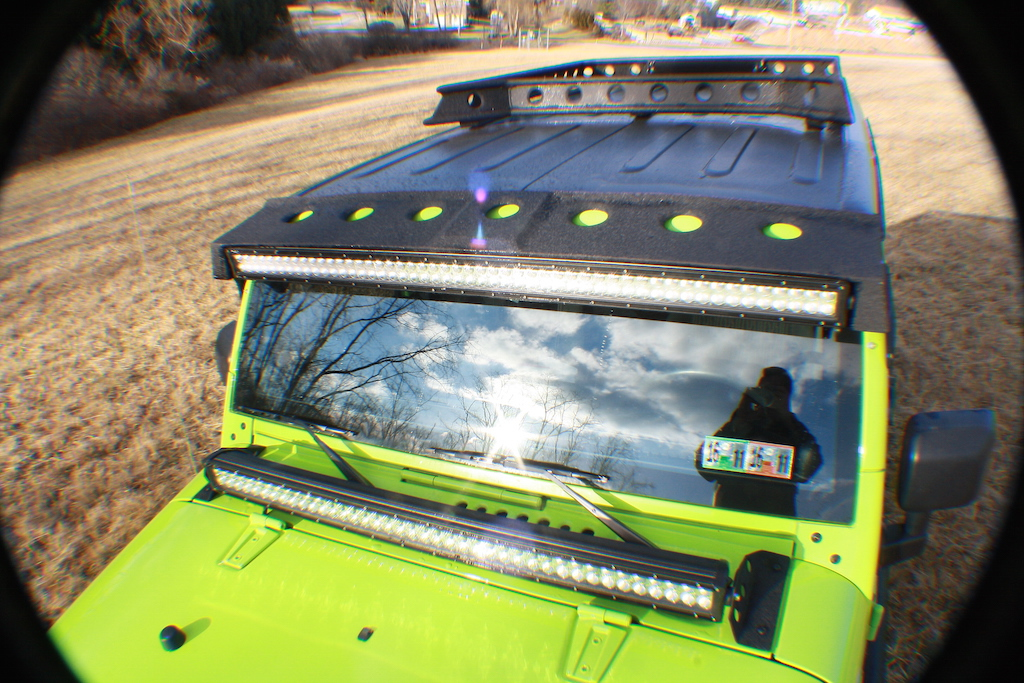 Gecko Roof Rack and Light Bars