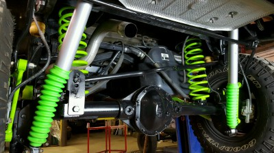 FMJ-K8 Rear Suspension