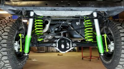 FMJ-K8 Rear Suspension