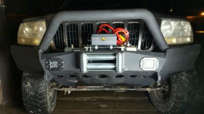 Cherokee Front Bumper Build