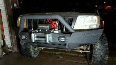 Cherokee Front Bumper Build
