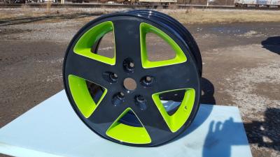 Two Tone Powder Coated Wheel