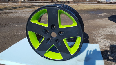 Two Tone Powder Coated Wheel