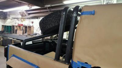 FMJ-K8 Baja Rack Build Up