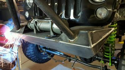 FMJ-K8 Front Bumper Build Up