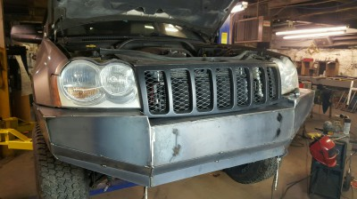 Hemi Front Bumper Build Up
